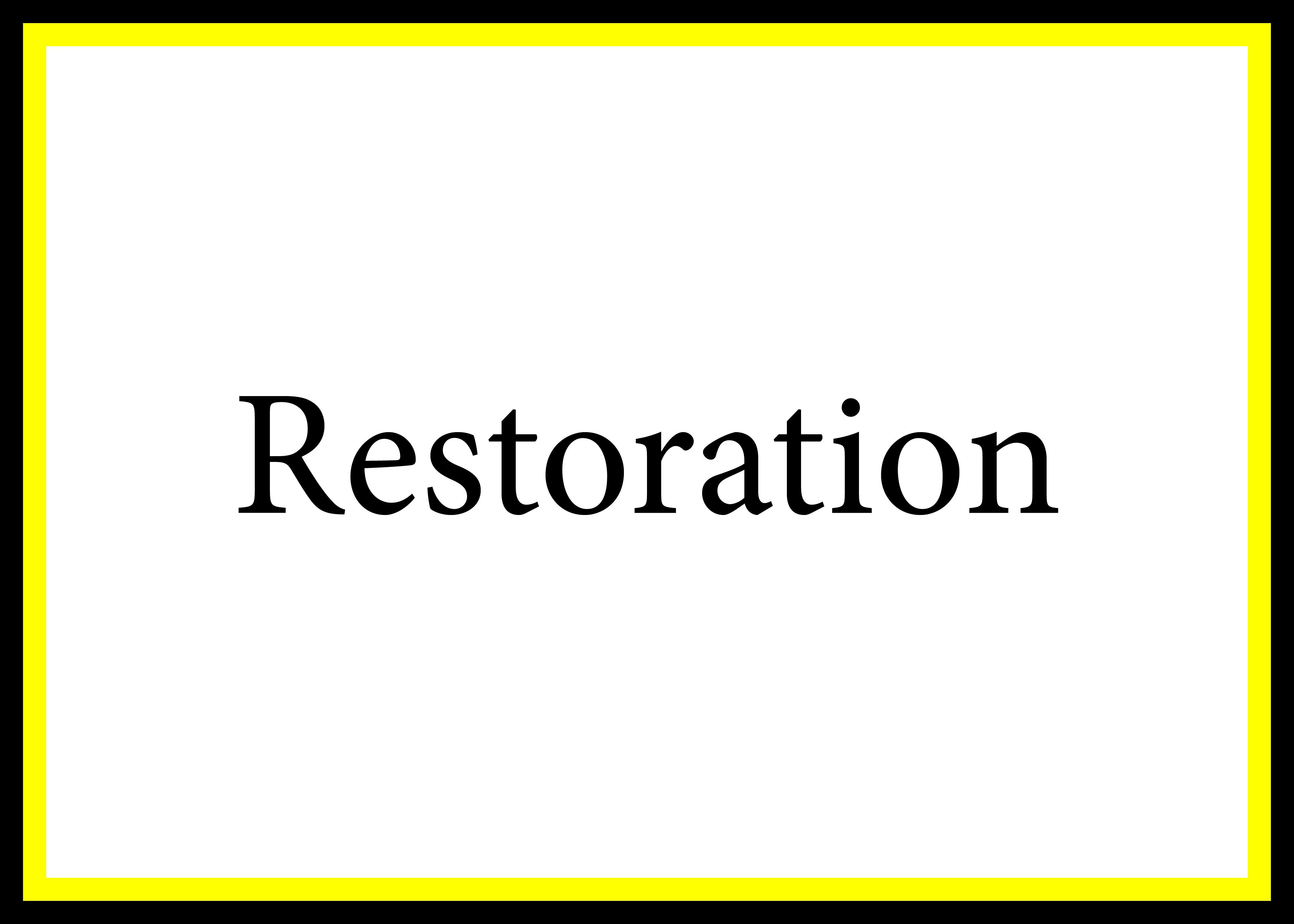 Restoration CP